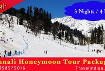 Manali Honeymoon Tour Package / Meet to our travel representative and proceed to Manali. http://www.travelindiaa.in