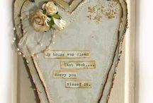 Heart / A board for heart lover.