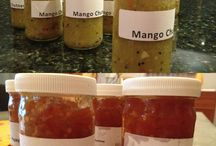 New Creations at Casa de Montaña / Casa de Montaña has prepared Mango and Papayas Chutneys made from the Lari family recipe that were handed down from previous generations. We make our chutneys using fresh fruit from our apricot tree, Japanese plum tree, and papaya plant. The mangos are donated to Casa de Montaña from a friend. Our chutneys are seasonal depending on when the fruit is ready. Our chef Veronica and Manzar put a lot of love into the end product!  www.casademontana.com