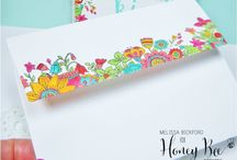 Honeybee stamps inspiration