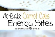 Carrot Cake Energy Bites (No Bake)