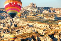Hot air balloon experience / once in your life!