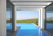 PANORAMA HOME / Light, water, fresh air, perfect view... With a smart architectural design, this home in Panorama -Thessaloniki takes fully advantage of the privileges that quality aluminium windows give.