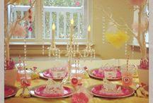 Princess party - 1st birthday