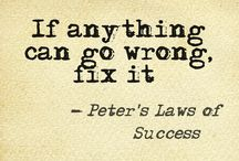 Peter's Law of Success