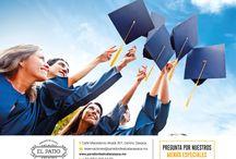Ven a celebrar tu graduación.