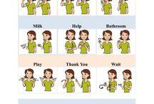 Autizmus sign language