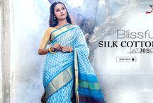 Ikat Silk Cotton Sarees / Festive #SilkCottonsarees have arrived at 30% OFF! HURRY!!