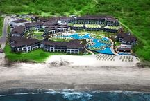 JW Marriott Gunacaste Costa Rica / Located on a secluded beach, the JW Marriott Guanacaste Resort and Spa centers around a 25,000-square-foot freeform pool (The largest pool in Central America). This upscale hotel also offers a golf course, an equestrian center, a full-service spa, and 4 restaurants.