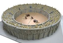 Gladiators arena miniatures