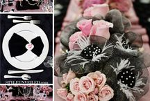 black and pink