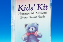 Hyland's Kids' Kit Remedies / Renowned homeopathic physician, Dr. Maesimud Panos, M.D. designed this kit and developed the user's guide for the products. She chose the six remedies from her lifetime of experience, they are the six remedies most popular in treating childhood illness from earaches to nosebleeds. We also include Bumps' n Bruises Ointment to help with bruising and inflammation from falls. / by Hyland's, Inc.