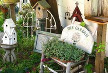 find me in the garden / by Nancy Spencer