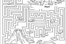 plan des dinosaures