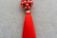 Biżuteria Jewellery kulki z kulek (balls from beads/pearls)