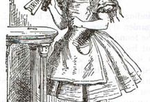 Alice's Adventures in Wonderland and Through the Looking Glass, and What Alice Found There / The engravings of Sir John Tenniel b.1820 d.1914. for Lewis Carroll's Alice's Adventures in Wonderland and Through the Looking Glass, and What Alice Found There