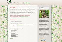 Webkitchen websites / De websites die ik gemaakt heb