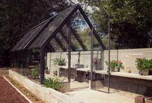 Potager / Trädgård, odling, köksträdgård, planteringar, blommor, material mm