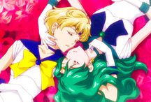 sailor Neptun und sailor Uranus