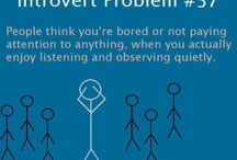 introvert..