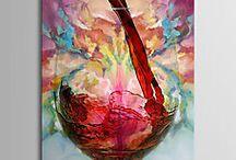 pintura de copas