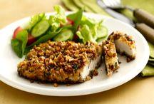 Crispy Pecan Chicken Recipe