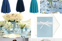 Blue Wedding Details / by Bright Occasions