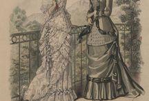 Victorian Fashion 1870's Costume Inspiration