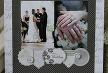Wedding Scrapbook Layouts