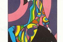 psychedelic board