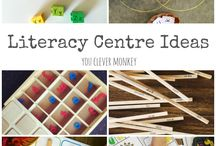kinder literacy centres