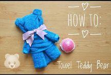 Handdoek knutsels