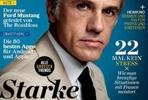 Magazine Cover . Portada de Revista