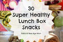 lunch box ideas & snacks