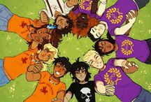 PJO ; HOO ; CK ; TA / Fans Percy Jackson, Heros Olympus, Kane Chronicles, Trials of Apollo