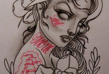 Rock'ink'Roll Sketch