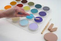 Panpastel tutorial / Op dit bord kun je allerlei panpastel voorbeelden vinden van de tutorial's die zijn uitgewerkt op ons blog.