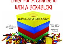 BOX4BLOX Contest & Promotions / Ways to win a FREE BOX4BLOX.