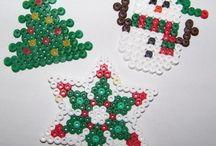 Pyssla • Perler • Hama beads