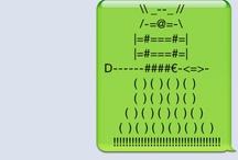 ASCII art / by Lexie Mone't