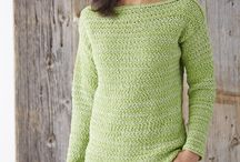 Pullover crocheted / Free pattern
