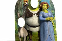 Shrek Cardboard Cutouts / Standees and Standup Props
