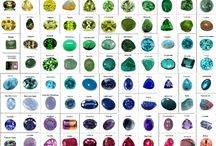 Diamonds and precious gems charts / Diamonds charts size Precious gems details Perfect choice