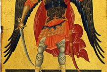 Bizantin icons - Archangel Michael