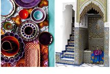 #Morroccan play / Morocco, ottomans, mosaic tiles, pattern, middle eastern, desert style,