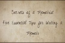 Ideas for Authors / Tips for authors of memoirs, novels and other genres