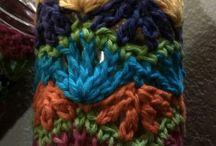 frascos crochetados