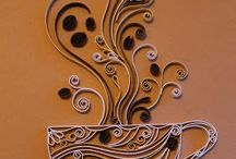 PAPER QUILLED ART
