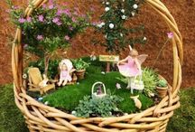 BASKET FAIRY garden