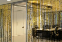 glass SURFACE / printing, patterns, finishes, signage....etc